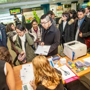 The Fresh Careers Fair 2016. March 10, 2016. (Photo/Ivan Gonzalez)